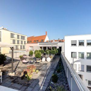 Hotel Ingolstadt Dachterrasse